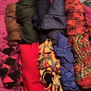 10 pairs of lularoe tc leggings
